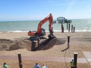 Brighton West Pier Dorton Reclamation Yard Sussex